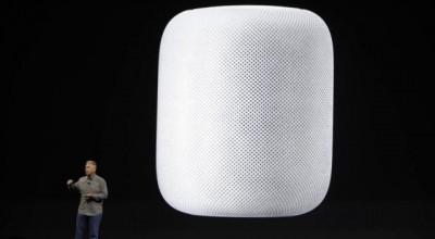 Apple lança caixa de som inteligente para competir com Amazon e Google