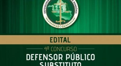 Confira o edital para concurso de defensor público em Rondônia; salários de R$ 20.812,20