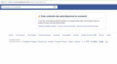 Principal suspeito pela morte da acadêmica Josélia exclui perfil do Facebook; ele ainda está foragido