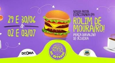 Rolim de Moura sediará Festival de Food Truck