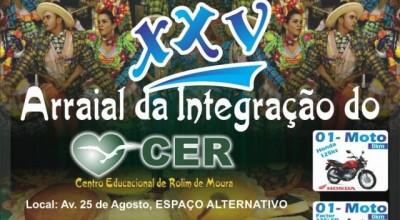 25º Arraial da Integração do Centro Educacional acontece neste sábado em Rolim de Moura