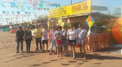 Colaboradores da FAROL participam com barraca do XXV Arraial da Integração