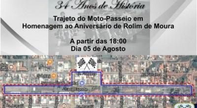 1ª Noite do Motociclista e Exposição de Carros Antigos acontece neste sábado (05)