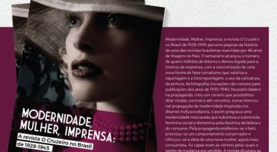 Professora de Jornalismo da Unir lança segundo livro sobre a Revista O Cruzeiro