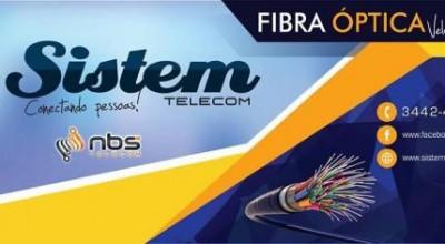 Sistem Telecom oferece Internet Fibra Óptica no Cidade Alta