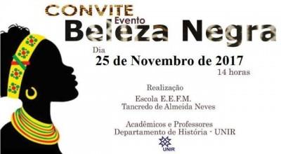 Evento Beleza Negra será realizado em Rolim de Moura no próximo sábado, 25