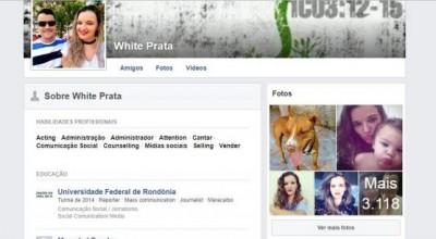Após ter perfil bloqueado, jovem rondoniense é autorizada por Facebook a usar o próprio nome: White Prata
