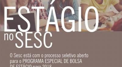 Sesc Rondônia abre processo com 60 vagas de estágio para 2018