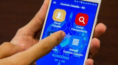 Aplicativo Controle Cidadão da CGE recebeu mais de 40 registros em dois meses de funcionamento em Rondônia