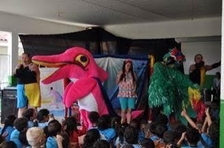 Espetáculo infantil faz apresentações gratuitas na semana do Dia das Crianças em Rolim de Moura