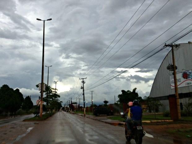 Sipam prevê chuva forte em todo o estado de Rondônia nessa quinta-feira