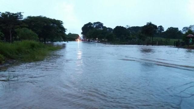 Defesa Civil alerta para risco de inundações nos próximos 5 dias em Pimenta Bueno, RO