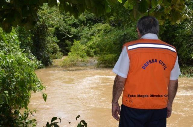 Defesa Civil de Cacoal emite alerta a população ribeirinha
