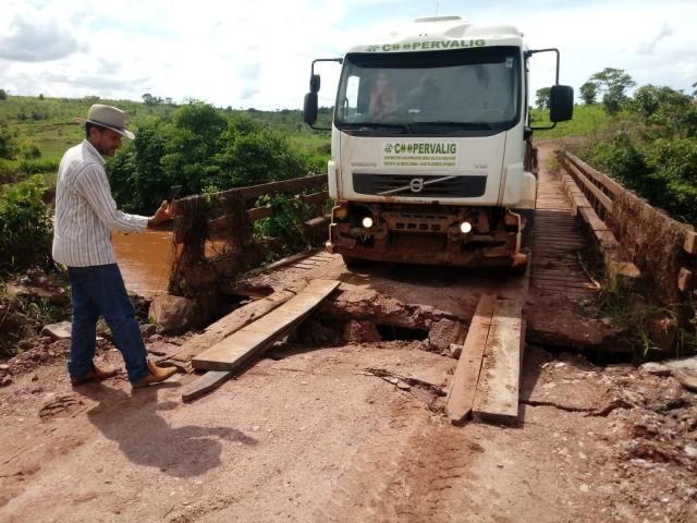 Jean Oliveira cobra do DER operação tapa buracos na estrada RO 010