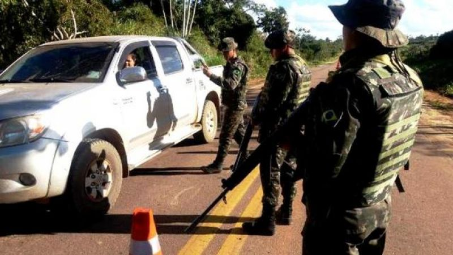 OPERAÇÃO ESCUDO: Exército atua firma no combate a crimes ambientais em Rondônia