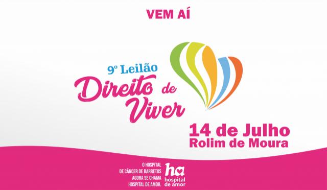 14 de Julho, a data do 9º Leilão Direito de Viver em Rolim de Moura