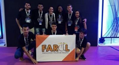 Farol: Acadêmicos de Sistema de Informação  e Engenharia da FAROL estão em São Paulo na  Campus Party