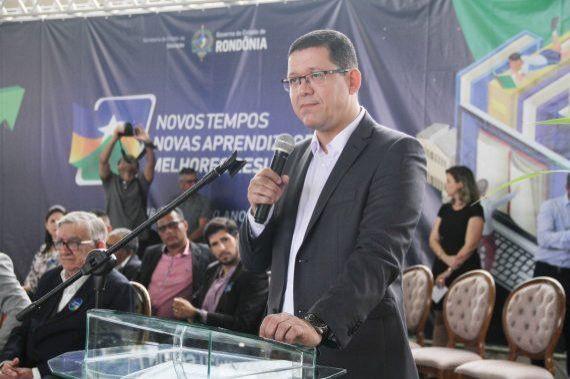 Governador Marcos Rocha abre Ano Letivo e diz que meta é fazer uma nova educação em Rondônia através de um esforço conjunto
