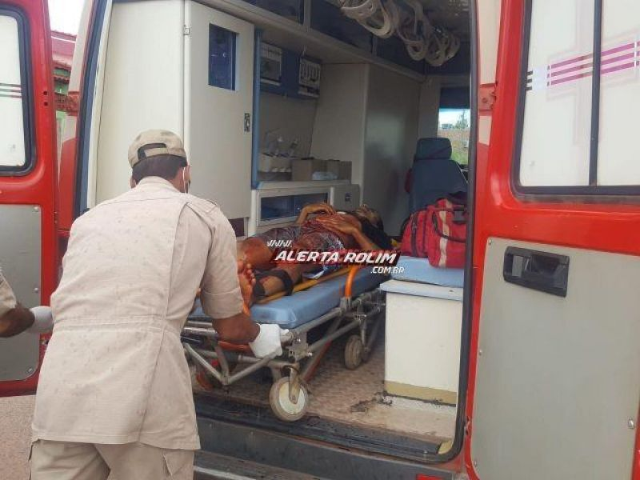 Rolim: Jovem é atacado e leva várias facadas enquanto caminhava pela via no Bairro Boa Esperança