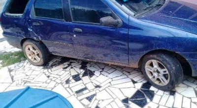 Denúncia anônima leva polícia até carro que atropelou mãe e filha em Vilhena; garota vai para Cacoal em estado grave