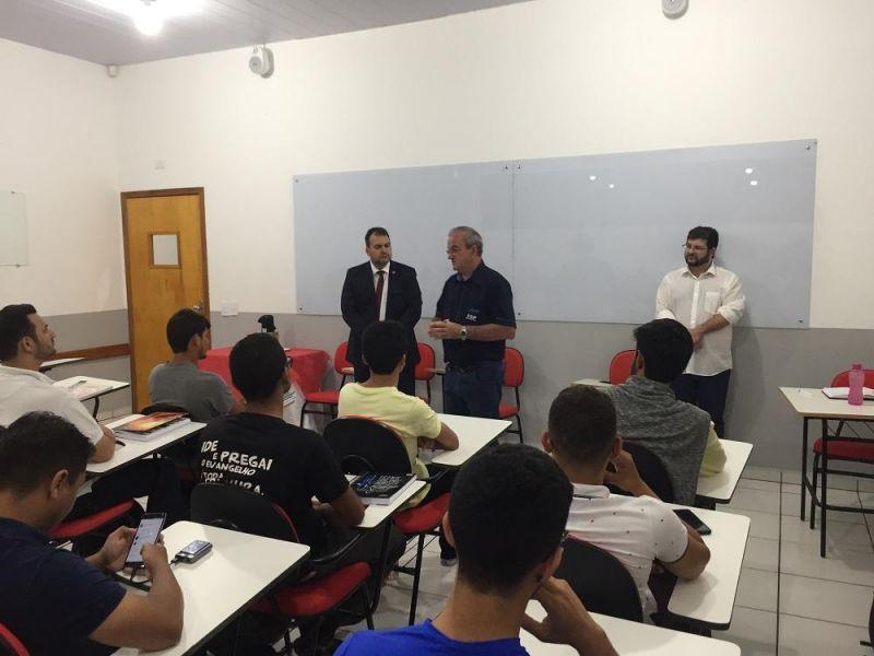 Faculdade São Paulo promove encontro com representantes da OAB e acadêmicos do curso de Direito