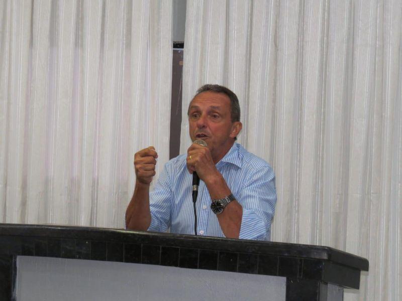 Lazinho da Fetagro repudia proposta de reforma da Previdência em audiência pública