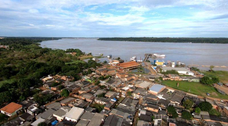 Rio Madeira baixa 10 cm em 24h e sai da cota de inundação em Porto Velho