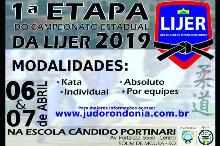 Rolim de Moura vai sediar 1ª etapa do Campeonato Estadual de Judô