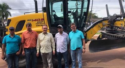 Rolim: Secretaria de Agricultura recebe motoniveladora
