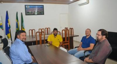 Rolim: Secretário de Meio Ambiente visita Presidente da Câmara
