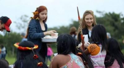 Crianças de escola vilhenense visitam aldeia indígena no Mato Grosso e participam de experiência transcultural