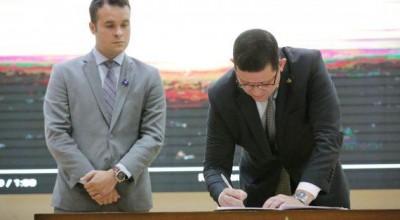 Governador Marcos Rocha lança medidas de combate à corrupção em Rondônia com a presença do ministro da Justiça Sérgio Moro
