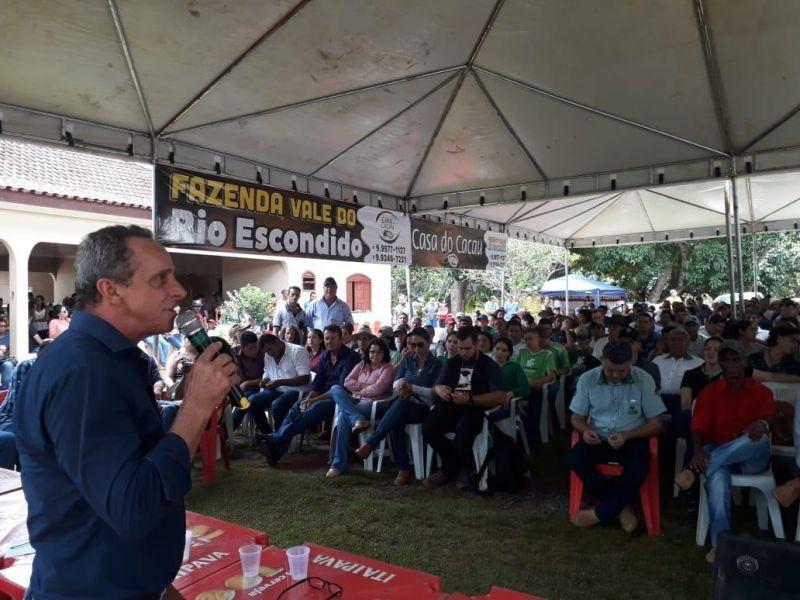 Lazinho da Fetagro propõe criação do dia estadual do cacau como incentivo à cadeia produtiva