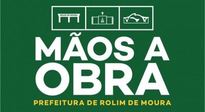 Mãos à Obra será lançado nesta segunda-feira, 22 pela Prefeitura de Rolim de Moura