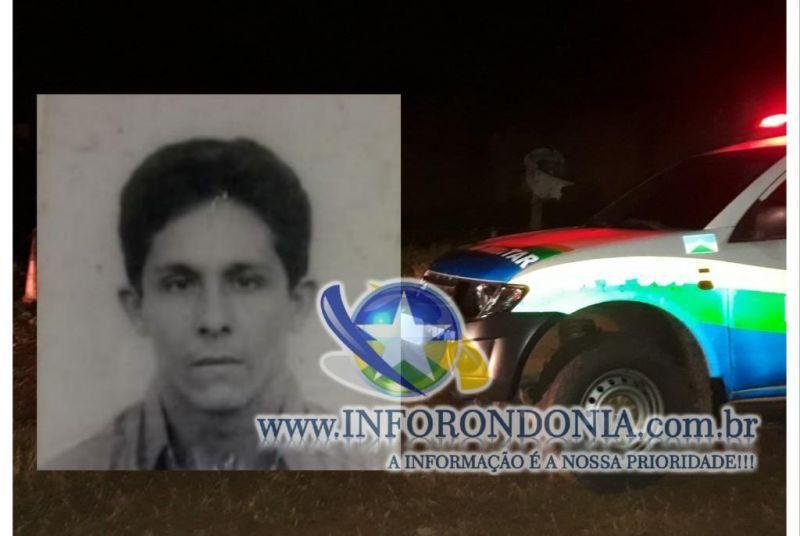 Nova Brasilândia - Homem é morto por vários disparos de arma de fogo