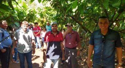 Para aumentar produção de Cacau Clonal, produtores de Rolim de Moura fazem excursão técnica