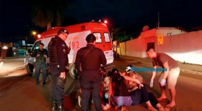Porto Velho: Mulher bêbada se joga no meio de avenida após descobrir traição