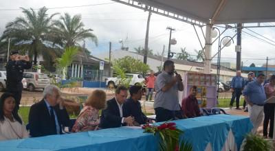 """Presidente da Câmara participa do lançamento do Programa """"Mãos a Obra"""" da Prefeitura Municipal"""