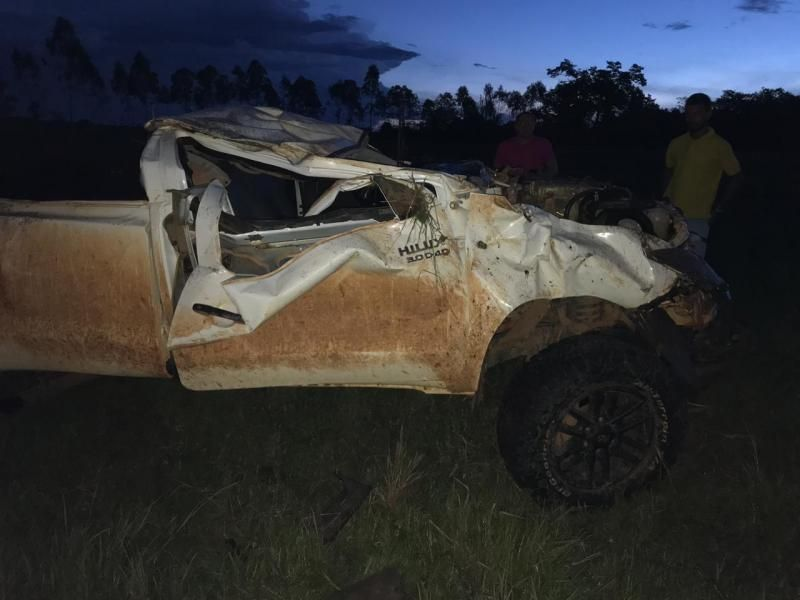 Rolim: Grave acidente resulta em uma pessoa morta na RO-479, próximo ao Aeroporto
