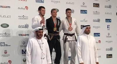 Rolimourense é campeão de JIU JITSU em ABU DHABI