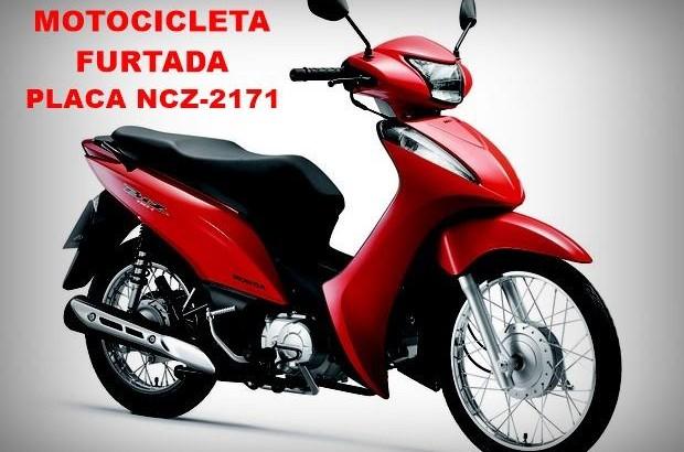 Utilidade Pública: Motocicleta Biz furtada no pátio do Hospital Materno de Cacoal