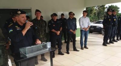 Alta-Floresta: Inaugurado Batalhão da Polícia Ambiental