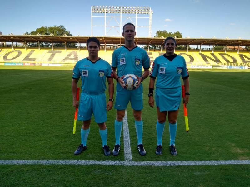 Brasileirão: Árbitro assistente de Rolim de Moura vai trabalhar em jogo da Série C