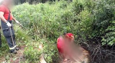 Corpo esquartejado é encontrado jogado em igarapé, em RO