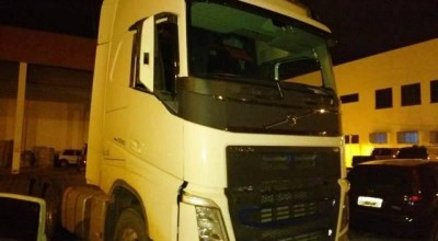 Dirigindo caminhão furtado no Mato Grosso, homem troca tiros com policiais a caminho de Vilhena e consegue escapar