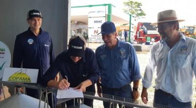 Em cerimônia na Rondônia Rural Show, Copama anuncia construção de secador de R$ 12 milhões em Cerejeiras