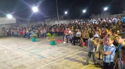 Escola Municipal Valdecir Sgarbi realiza evento para homenagear mães