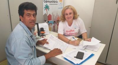 PAA-Secretária de Assistência Social recebe presidente da Adagrim