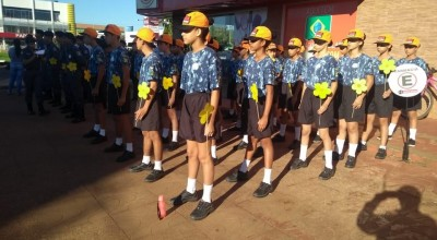 Patrulha Maria da Penha e Polícia Mirim do 10º BPM participam do evento de combate ao abuso e exploração sexual de crianças e adolescentes