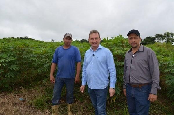 Prefeito de Rolim de Moura agradece autoridades por doação de terreno para construção do Ceasa